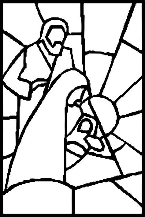Christmas Nativity Coloring Page Nativity Coloring Pages