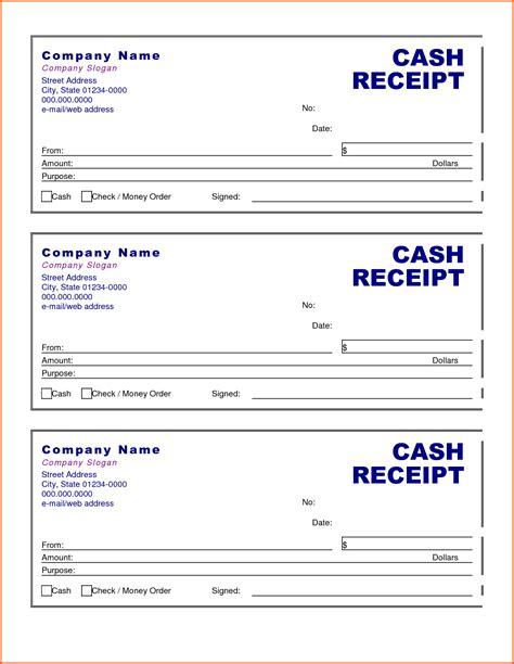 excellent cash receipt template  spreadsheet excel
