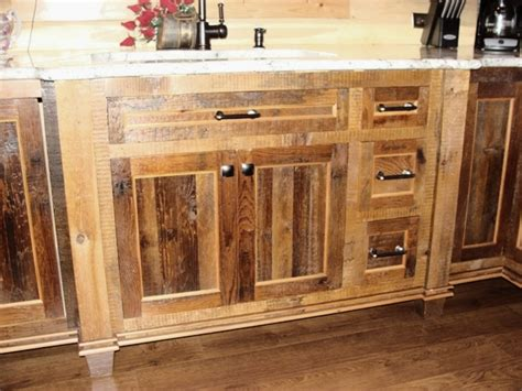 reclaimed wood cabinets for kitchen reclaimed barnwood kitchen cabinets barn wood furniture 7653
