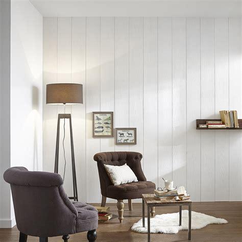 lambris pin brossé blanc l 260 x l 19 5 cm ep 20 mm
