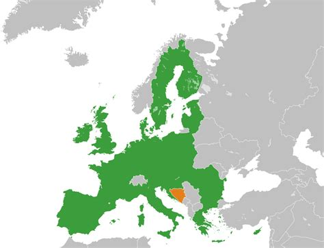 Accession Of Bosnia And Herzegovina To The European Union