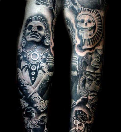 Tribal Aztec Tattoo Patterns