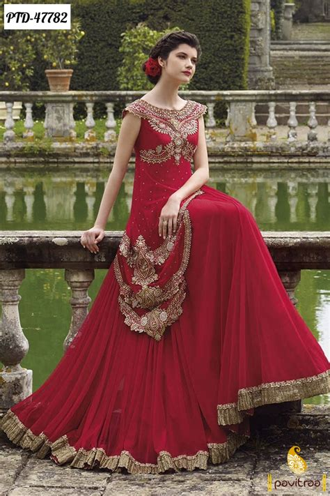new year special party wear designer dresses online 2017 diwali and wedding season special anarkali dresses and