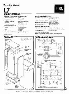 Jbl L8400p Sm Service Manual Free Download  Schematics
