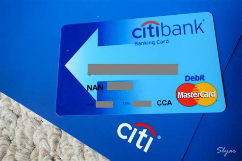 citibank debit card  cards