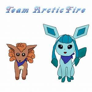 Team Arcticfire By Blueleafeon On Deviantart