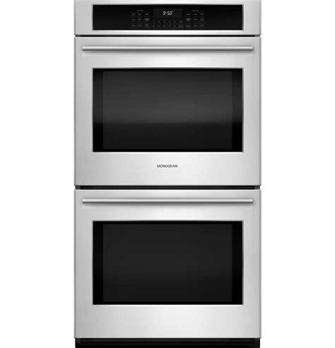 monogram  electric double wall oven zekshss ge appliances