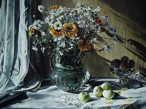 oleg dashevsky transcendent acrylic  life paintings