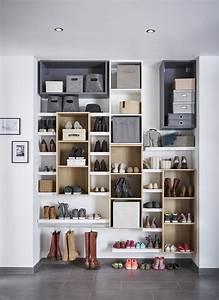 Rangement De Chaussures : des astuces pour ranger vos chaussures leroy merlin ~ Dode.kayakingforconservation.com Idées de Décoration