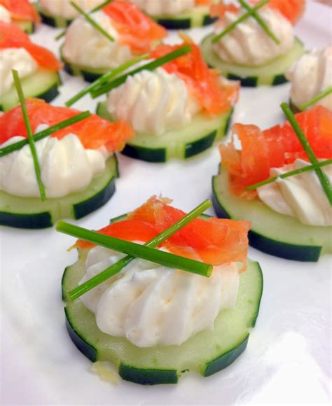 cucumber canapes jennuine by rook no 17 easy appetizer salmon