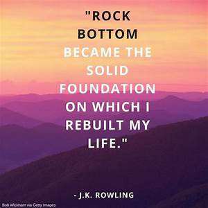 25+ best Rock B... Rock Foundation Quotes