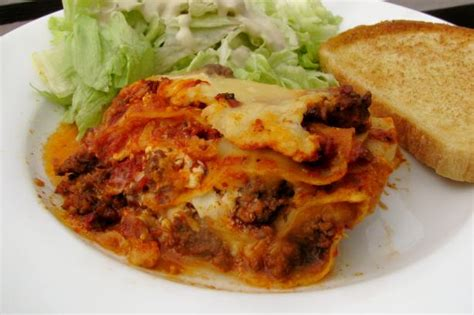 easy lasagna cottage cheese easy lasagna with cottage cheese recipe food