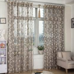 New arrival window screening tulle leaf nature modern