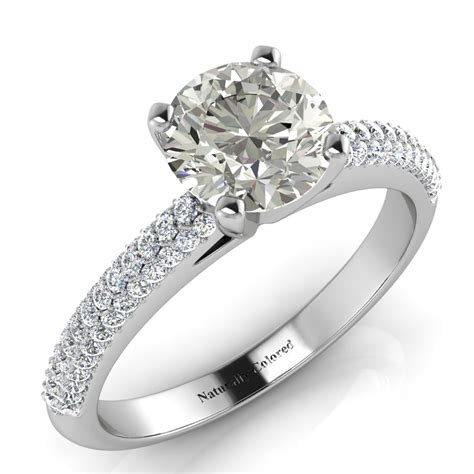 Guide To Gray Diamond Rings  Naturally Colored. Pre Wedding Wedding Rings. Star Trek Rings. Cushion Shape Wedding Rings. Single Lady Wedding Rings. Warcraft Engagement Rings. Green Amethyst Rings. Meaning Rings. Radiant Diamond Engagement Rings