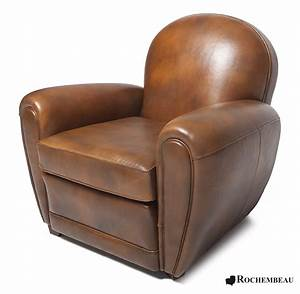 Bradford club chair rochembeau sheepskin leather club for Fauteuil club