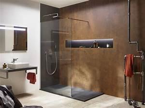 40 salles de bains design elle decoration for Salle de bain design avec décoration d intérieur zen