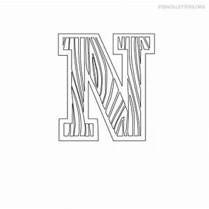 stencil letters n printable free n stencils stencil With letter stencils for wood