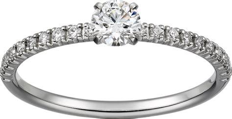 crn4744300 etincelle de cartier ring platinum diamonds cartier