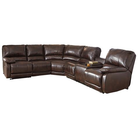 sectional sofa drink holder signature design by ashley hallettsville power reclining