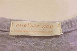 Diy make your own clothing labels for How to sew labels on clothes