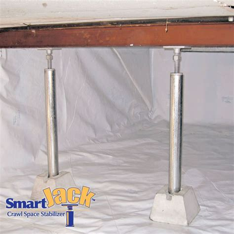 floor joist support jacks crawl space structural support jacks installed in pasadena