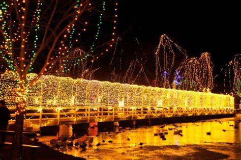 top christmas decorated towns  oklahoma