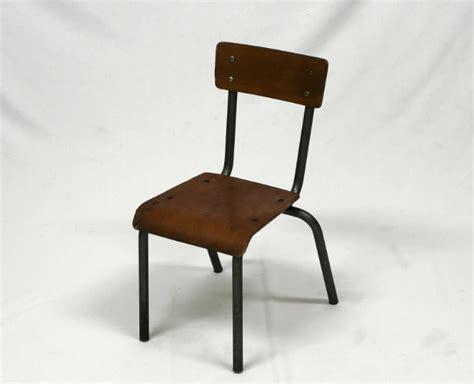 chaise d 39 école enfant vintage mullca le vintage dans la peau