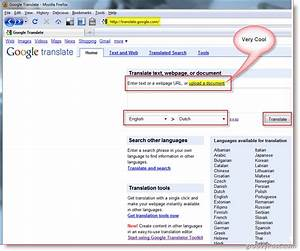 how to translate documents or websites with google translator With google word document translate