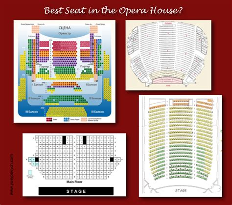 Seats In The House by Opera House Seating Chart