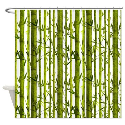 bamboo shower curtain bamboo lessons shower curtain by patternshoppe