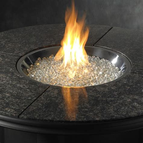 fire glass grand colonial gas fire pit table