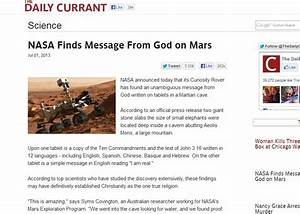Tablets On Mars NASA Finds - Pics about space