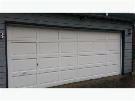 16 Ft Garage Door by 16 Ft Garage Door And Opener West Shore Langford Colwood