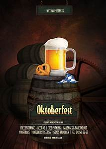 Oktoberfest vol.1 - party flyer/poster template by pixta ...