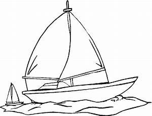 Comment Dessiner La Mer : 114 dessins de coloriage voilier imprimer ~ Dallasstarsshop.com Idées de Décoration
