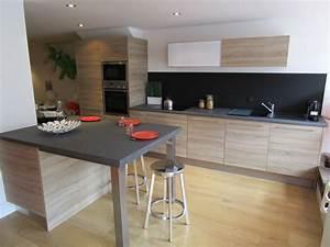 quel plan de travail pour une cuisine maison francois fabie With quel bois pour plan de travail cuisine