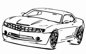 Free coloring pages of camaro chevrolet