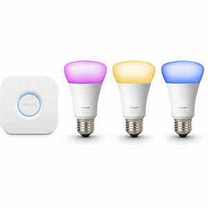 Philips Hue White Ambiance : philips hue white and color ambiance a19 starter kit 464479 b h ~ Orissabook.com Haus und Dekorationen