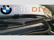 E46 replacing windshield cowl YouTube
