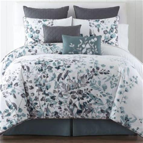 liz claiborne 174 silhouette floral 4 pc comforter set