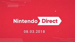 Nintendo Direct 832018 3DS Switch Smash Bros