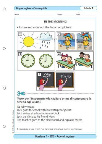 prove d ingresso lingua inglese scuola primaria prove d ingresso lingua inglese classe 5 la vita