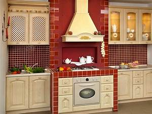red kitchen cabinets dos and don39ts home dreamy With kitchen colors with white cabinets with red dot stickers