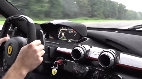 enjoy  blast   mph   ferrari laferrari video
