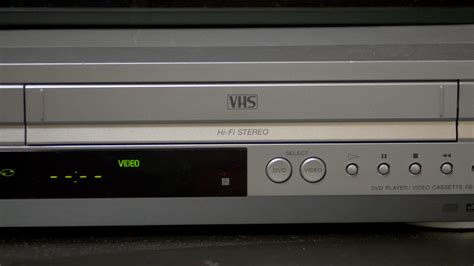 Cassette Vhs by Putting Vhs In Vcr Stock Footage Storyblocks