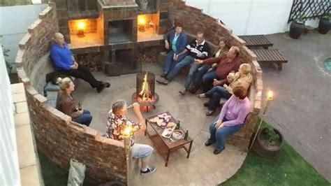 cozy braai area outdoor fire pit fire pit gallery diy