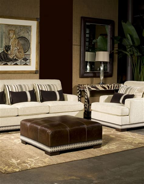 Furniture Trim by Sofa With Nailhead Trim