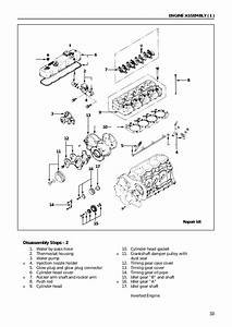 Isuzu 4jb1 Workshop Manual