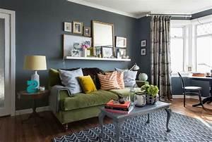 Wandfarbe Für Wohnzimmer : 40 moderne wandfarben ideen f r das wohnzimmer ~ One.caynefoto.club Haus und Dekorationen