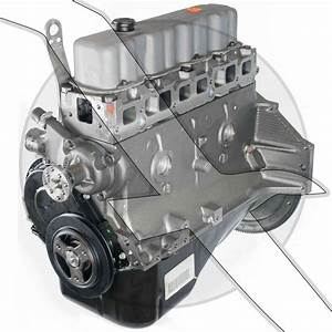 3 0l Base Engine New Gm Longblock 181 Mercruiser  Volvo
